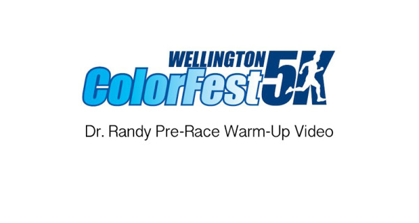 Dr. Randy Pre-Race Warm-ups At Colorfest 2016