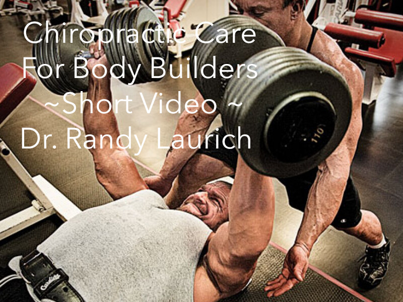 Dr. Randy Discusses Weight Lifting And How It Can Affect Your Body