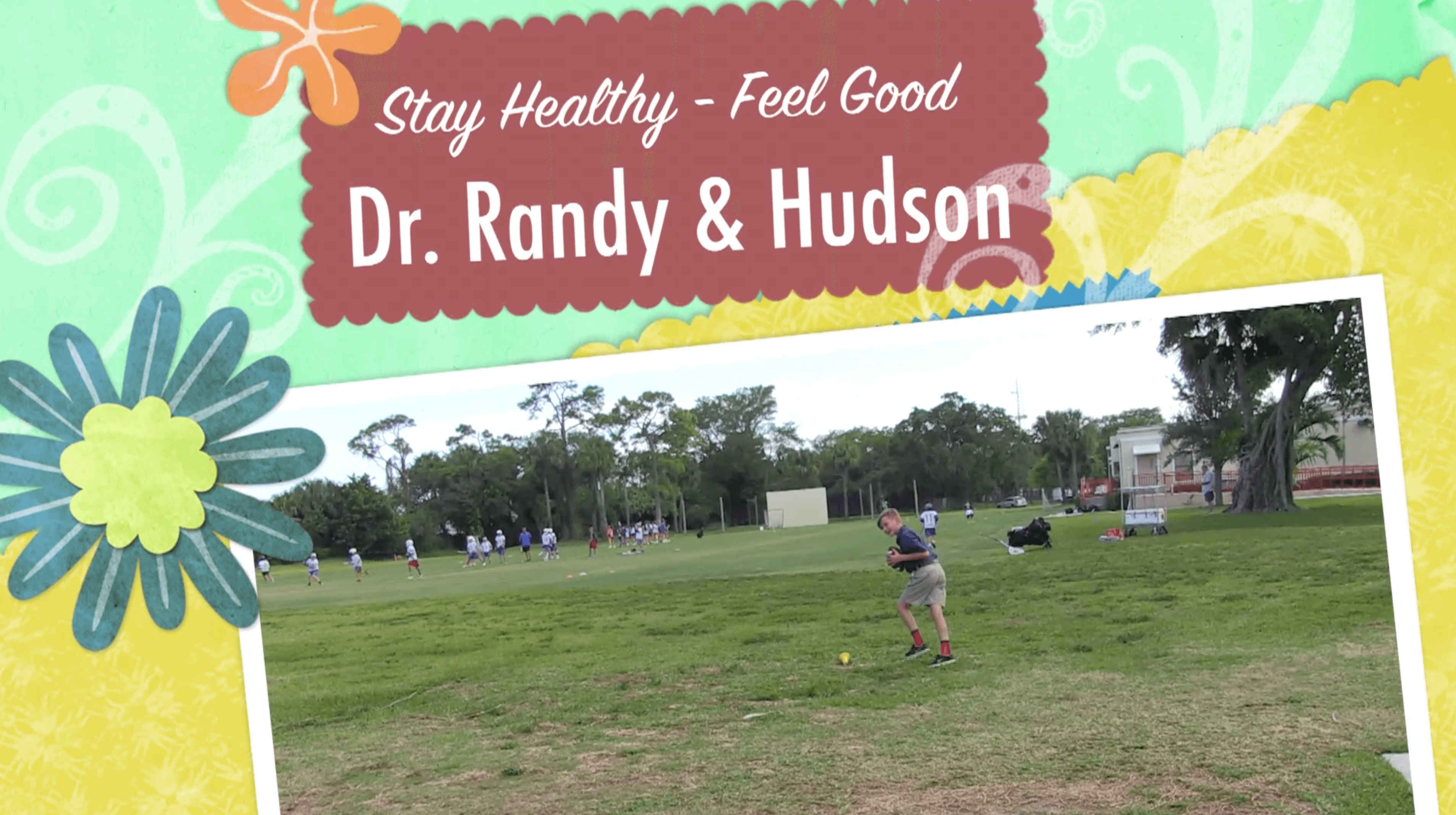 Dr.  Randy Laurich Throwing The Football With Hudson