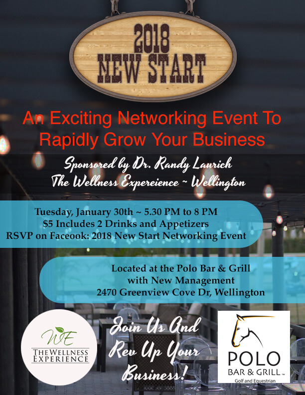 TWE – Polo West Networking Event Flyer