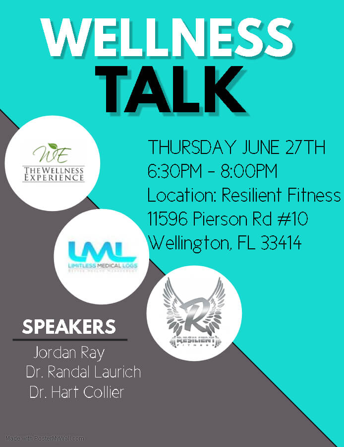 Resilient Fitness And The Wellness Experience Come Together To Discuss How To Maximize Your Fitness Training And Overall Health